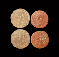 Claudius I, Sestertius & As 2-pack